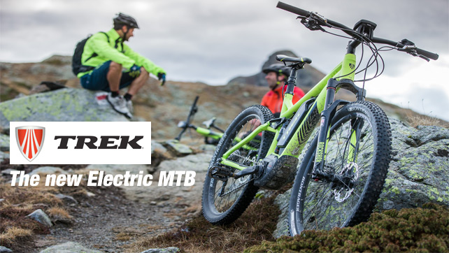 The new Electric MTB of TREK now available @ Bestbike.