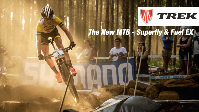 The new MTB Superfly & Fuel Ex of TREK now available @ Bestbike.