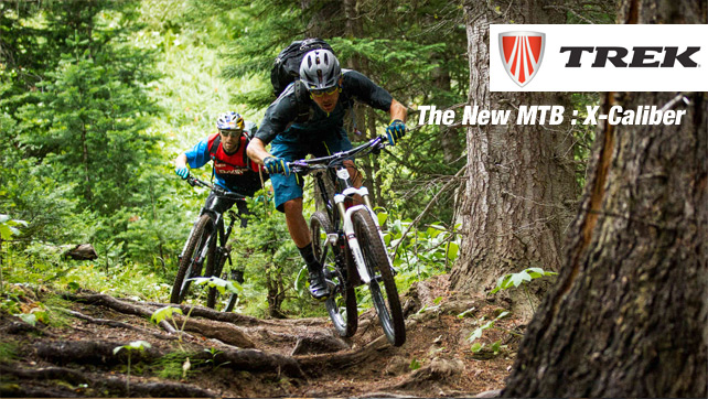 The new MTB X-Caliber of TREK now available @ Bestbike.